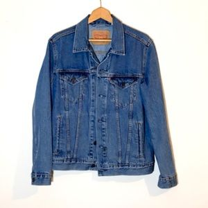 Levi's Medium Stonewash Trucker Jean Jacket